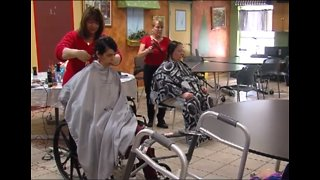 Free haircuts for the disabled at Seagull Services