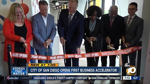 City of San Diego opens its first business accelerator