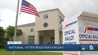 National Voter Registration Day: Palm Beach County currently has more than 1 million registered voters