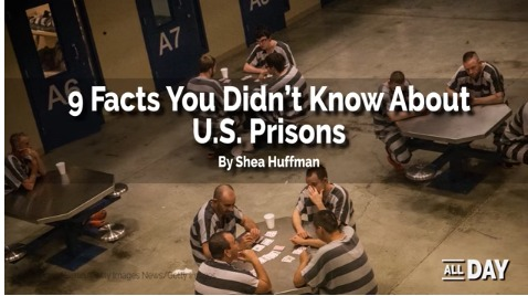 9 facts about U.S. prisons