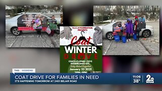 Coat drive for families in need