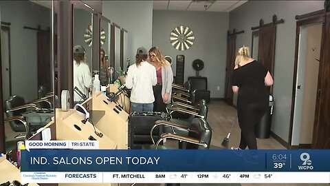 Want a haircut now? You might try Indiana