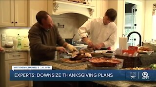 Health Department urges people to keep Thanksgiving gatherings small