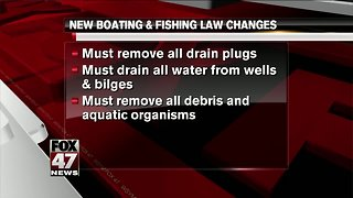 New boating & fishing laws take effect in Michigan this week