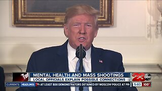 Local reaction to mental health and mass shootings
