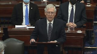 Mitch McConnell Says Capitol Rioters Were Provoked By President Trump