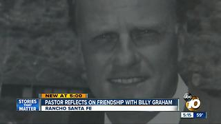 Pastor reflects on Graham's impact, friendship - Video