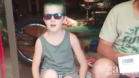 Boy Gets Special Glasses To See Correctly For The First Time In His Life, Can't Stop Crying