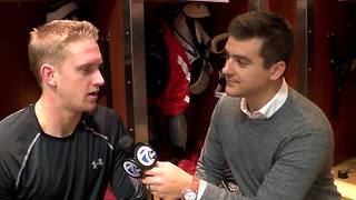 Anthony Mantha talks about growing his game, building body for Red Wings success - Video