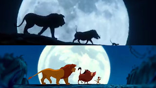 'The Lion King' Live-Action Movie Trailer Vs. The Original