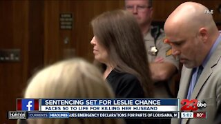 Leslie Chance set to be sentenced