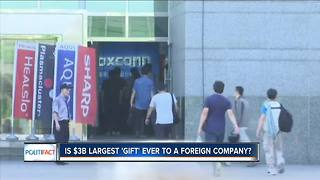 PolitiFact Wisconsin: Foxconn a gift? - Video