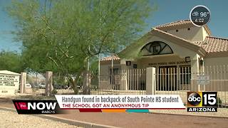 Phoenix student brings gun to high school - Video