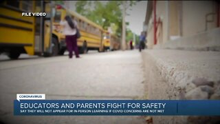 Educators and parents fight for safety
