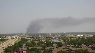 Crews respond to semi truck fire, explosions on I-44