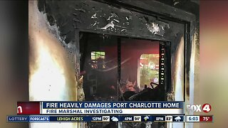 Port Charlotte home destroyed by fire