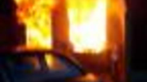 Flames Engulf Hermitage Apartment Building
