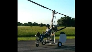 Gyrocopter at the White House