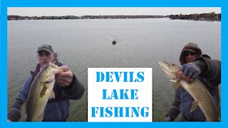 Devils Lake Michigan Fishing 2020