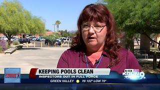 Keeping pools clean - Video