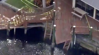 Injuries reported after dock collapse in Boca Raton - Video