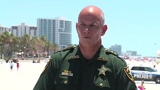 Pinellas County Sheriff Gualtieri gives updated about beaches reopening
