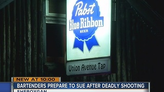 Bartenders prepare to sue Sheboygan after fatal shooting in bar - Video