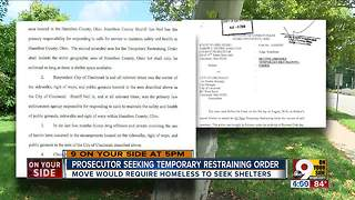 Judge bans homeless camps in Hamilton County - Video