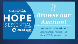 Make-A-Wish Colorado Hope is Essential Auction
