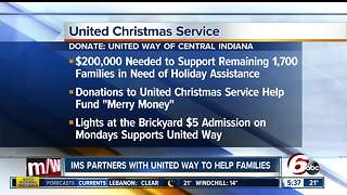 United Way needs help supporting Hoosiers for Christmas - Video