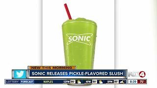 Sonic Drive-In debuts Pickle Juice Slush on Monday - Video