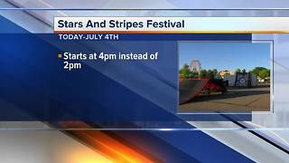 12th Annual Stars & Stripes Festival kicks off June 28 - Video