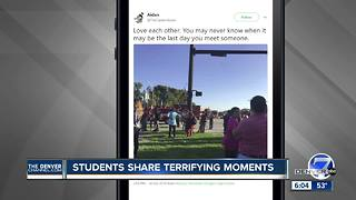 Social media posts from Florida school shooting - Video