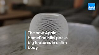 Apple HomePod mini packs big features in a slim body for just $99