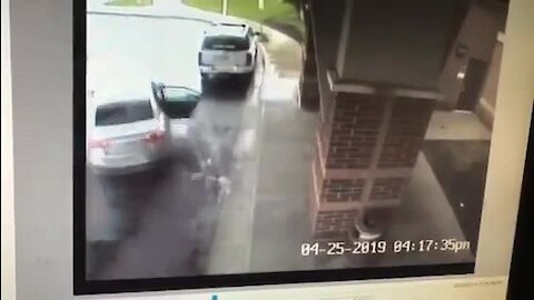 Boy saves sister from moving car driven by man who attempted to kidnap them