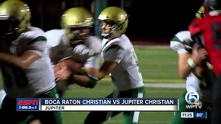 Boca Raton Christian defeats Jupiter Christian 9/26