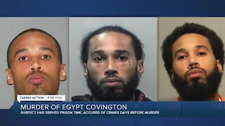 Family speaks after arrest in Egypt Covington murder