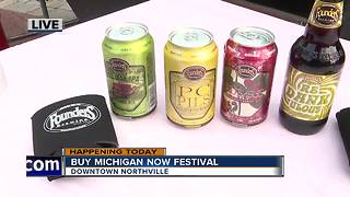Beer & Wine at the Buy Michigan Now Festival - Video