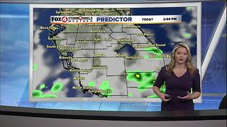 Partly Cloudy Skies and Warm Temperatures - Video