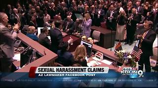 Arizona lawmaker opens up about sexual harassment - Video