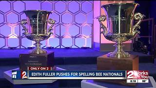 Edith Fuller pushes for Spelling Bee Nationals - Video