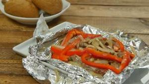 Philly Cheesesteak Foil Packet Dinner - Video
