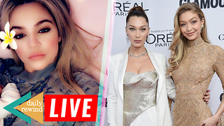 Khloe Kardashian SHARES A Picture Of Baby True! Hadid Sisters Get Back With Former Lovers! | DR - Video