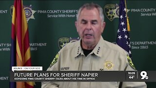 Outgoing Sheriff Mark Napier reflects on his tenure