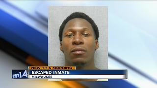 Minimum-security inmate escapes from Felmers Chaney Correctional Center in Milwaukee