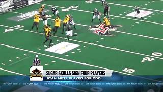 Sugar Skulls make first signings including local player