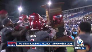 Florida Atlantic reclaims Shula Bowl trophy, will host Conference USA championship game - Video