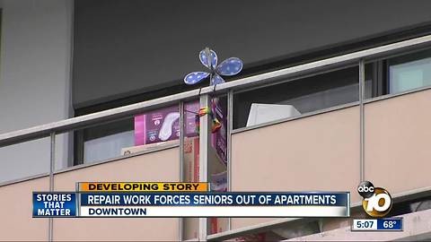 Seniors ousted from apartments again due to Renovations