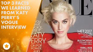 Katy Perry catches up with Vogue - Video