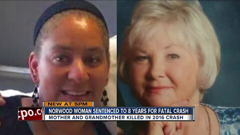 Norwood woman sentenced for deadly crash